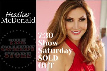 Heather McDonald Sat 7:30 SOLD OUT: Main Image