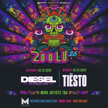 ZOOLU 26 Ft. DJ Diesel & Tiesto - NEW ORLEANS: Main Image