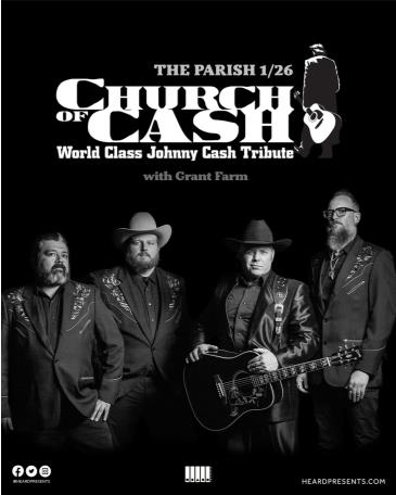 Church of Cash (Johnny Cash Tribute) at The Parish: Main Image