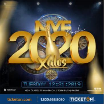 NEW YEAR'S EVE 2020 XALOS