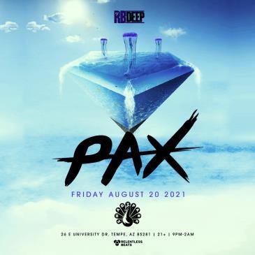 Pax - NEW DATE: Main Image