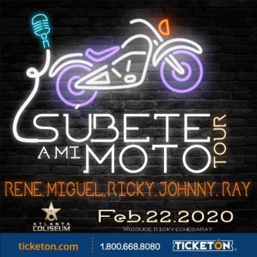 SUBETE A MI MOTO TOUR: Main Image
