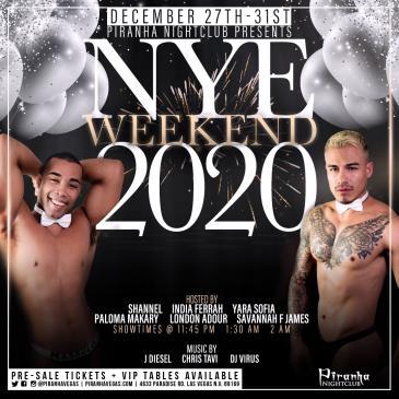 PIRANHA PRESENTS NYE 2020 - MONDAY (SINGLE DAY)-img