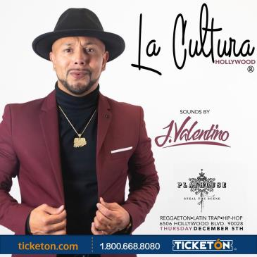 LA CULTURA THURSDAYS | DJ J VALENTINO AT PLAYHOUSE