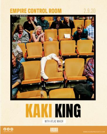 Kaki King with Atlas Maior (EARLY SHOW): Main Image