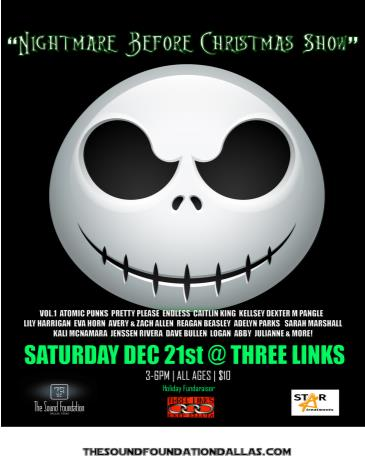 The Sound Foundation Nightmare Before Christmas: Main Image