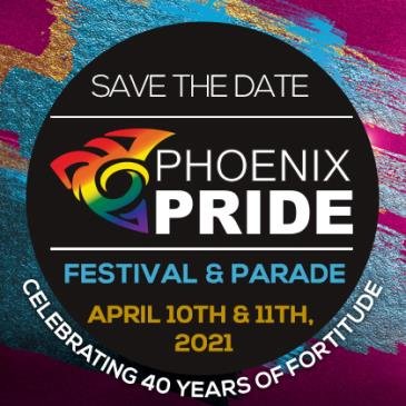 Phoenix Pride 2021 - Moved to 4/10 - 4/11: Main Image