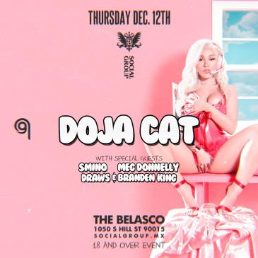 Doja Cat Live at the Belasco Theatre-img