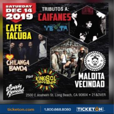 CAFE TACVBA Y MALDITA VECINDAD AND CAIFANES TRIBUTE