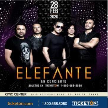ELEFANTE EN DEL RIO TX: Main Image