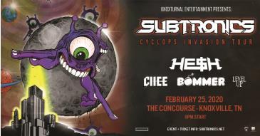 Subtronics Cyclops Invasion - Knoxville: Main Image
