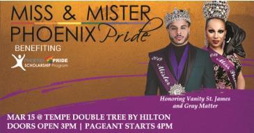Phoenix Pride Pageant 2020: Main Image