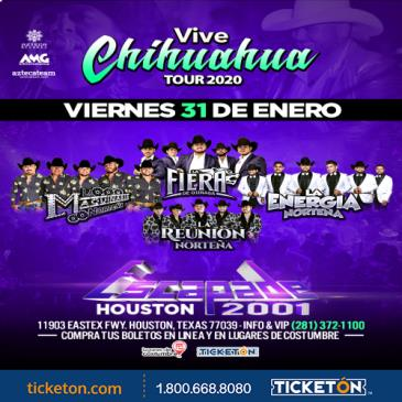 VIVE CHIHUAHUA TOUR 2019 HOUSTON