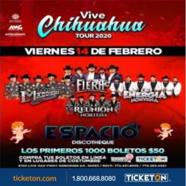 VIVE CHIHUAHUA ESPACIO DISCO - GA