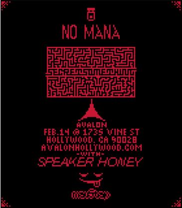 No Mana - Secret Something Tour + Speaker Honey: Main Image