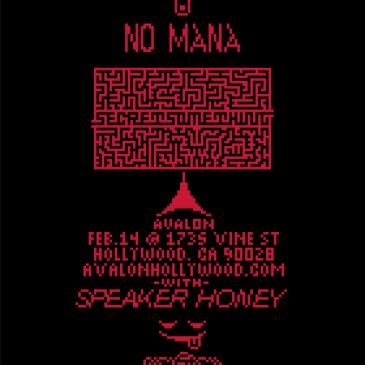No Mana - Secret Something Tour + Speaker Honey-img
