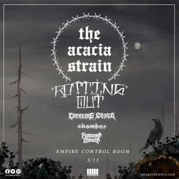 The Acacia Strain with Rotting Out, Creeping Death + more: Main Image