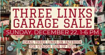December Garage Sale: Main Image