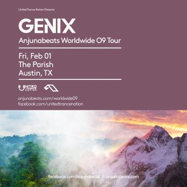 Anjunabeats Worldwide Tour 09 With Genix at The Parish: Main Image