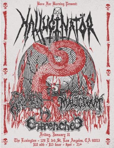 Hallucinator, Fallen Angel, Malignant, Entrenched: Main Image