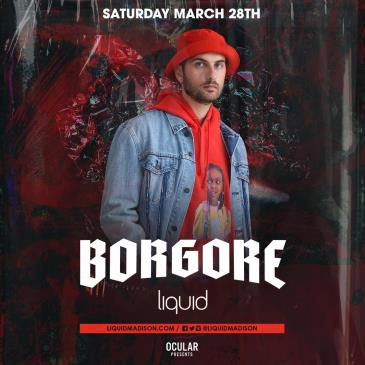 BORGORE (Postponed to April 3): Main Image