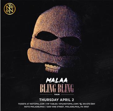 Malaa: Bling Bling Tour (CANCELED): Main Image