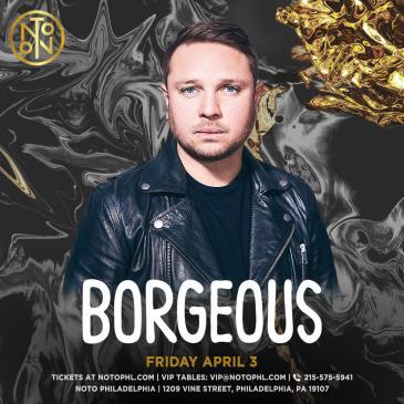 Borgeous (Postponed TBA): Main Image