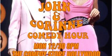 The John & Corinne Comedy Hour: Main Image