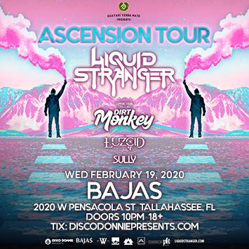 ASCENSION Tour with Liquid Stranger - TALLAHASSE: Main Image