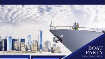 NYC #1 Boat Party around Manhattan - Friday Night Cruise: Main Image