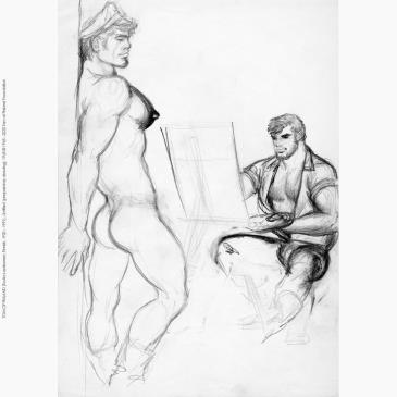Tom of Finland Foundation Life Drawing Session-img