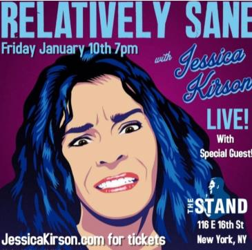 Jessica Kirson's Relatively Sane Podcast Live!: Main Image