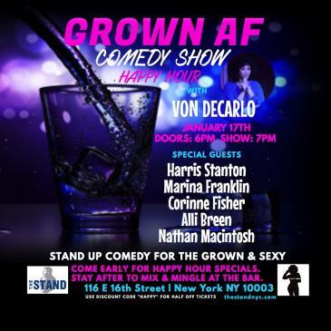 Grown AF Comedy!: Main Image