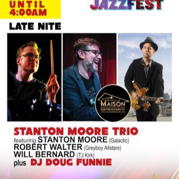 STANTON MOORE TRIO (Stanton, Walter, Bernard)-img