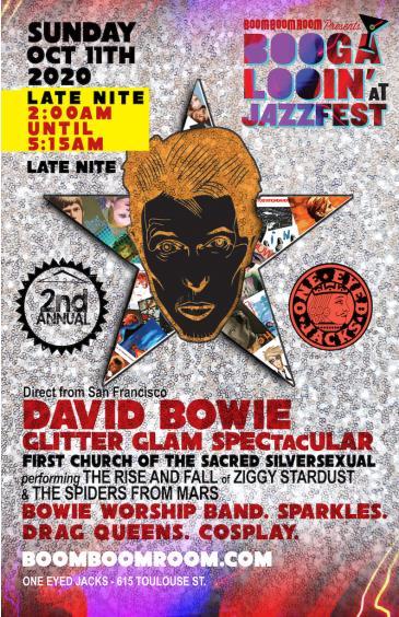 DAVID BOWIE Glitter-Glam SPECTACULAR [LATE NITE] @OneEyedJax: Main Image