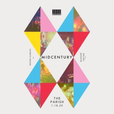 Midcentury w/ Kalijah, DAYEATER, Automatic Weekend-img