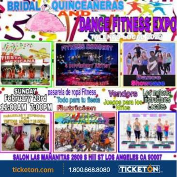 BRIDAL QUINCEAÑERA AND DANCE FIT EXPO