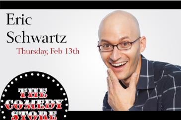 Eric Schwartz Go Time Comedy Tour 10:30pm: Main Image