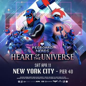 Pegboard Nerds - Heart of the Universe Part II Boat Party NY-img