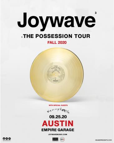 POSTPONEDTBD:101X Chillville Presents: Joywave w/KennyHoopla: Main Image