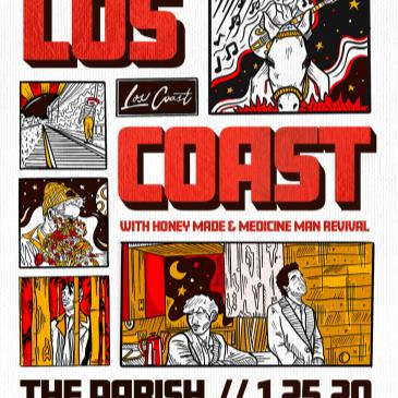 KUTX Presents: Los Coast w/Honey Made & Medicine Man Revival-img