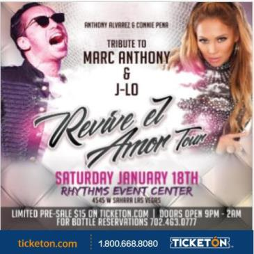 MARC ANTHONY & J.LO  TRIBUTE