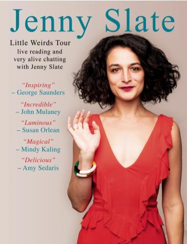 Jenny Slate: Little Weirds Tour: Main Image