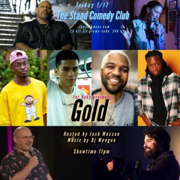 GOLD Stand-up show + after party!: Main Image