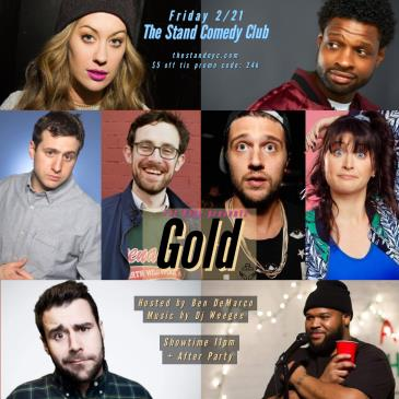 GOLD Stand-up show + after party!: