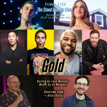 GOLD Stand-up show + after party!-img