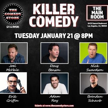 Killer Comedy Theo Von, Nick Swardson, Joel McHale +more-img