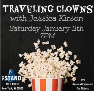 Traveling Clowns with Jessica Kirson!: