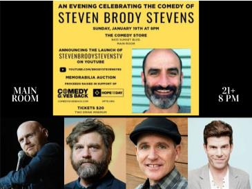 An Evening to Celebrate The Comedy of Steven Brody Stevens: Main Image