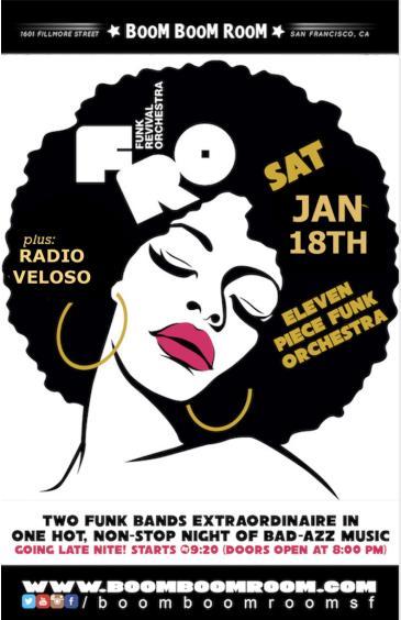 FUNK REVIVAL ORCHESTRA  + RADIO VELOSO (and: DJ K-OS): Main Image